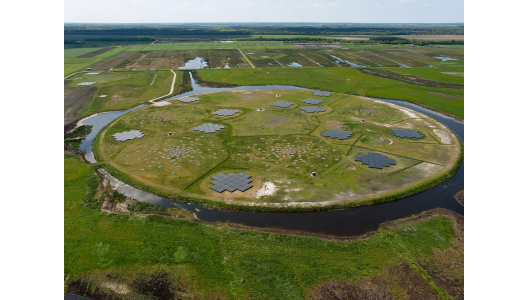 LOFAR field in the Netherlands. Image credit: LOFAR/ASTRON.