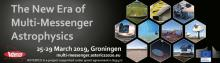 Conference banner: The new ear of multi-messenger astrophysics